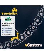 Kettenschmiersystem Scottoiler vSystem, für BMW F650GS / F700GS / F800GS (2008-2016)