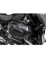 Zylinderschutz / Ventildeckelschutz Aluminium schwarz (Satz) für BMW R1250GS / R1250R / R1250RS / R1250RT