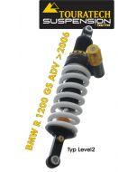 Touratech Suspension Federbein *hinten*  für BMW R1200GS ADV (2006-2013) Typ *Level2*