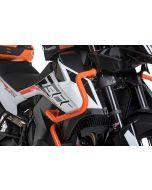 Verkleidungssturzbügel Edelstahl, orange für KTM 890 Adventure/ 890 Adventure R/ 790 Adventure/ 790 Adventure R