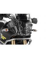 Scheinwerferschutz schwarz mit Schnellverschluss für Yamaha Tenere 700 *OFFROAD USE ONLY*