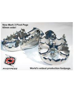 Pivot Pegz -Gelenkfußrasten *Mark3* für Kawasaki Versys 650 ab 2006