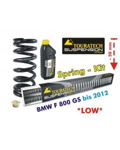 Tieferlegung um 50mm BMW F800GS bis 2012 Austauschfedern*Austauschfedern*