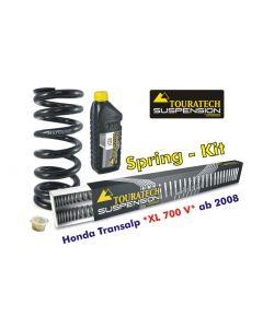 Progressive Federn für Gabel und Federbein,für Honda Transalp XL700V *ab 2008*