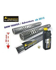 Progressive Gabelfedern für BMW F800GS / Adventure ab 2013 Tieferlegung um 50mm