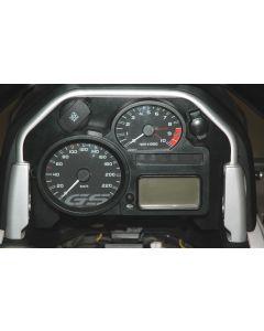 Cockpitblende 2 *Tachoeinheit* mit Bordnetz- und ZA-Steckdose BMW R1200GS (2008-2012)/R1200GS Adventure (2008-2013)