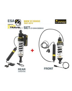 Touratech Suspension Plug & Travel-ESA Expedition SET für BMW R1200GS Model 2007-2010