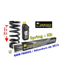 Tieferlegung um 50mm BMW F800GS / Adventure ab 2013 Austauschfedern