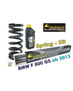 Progressive Federn für Gabel und Federbein.für BMW F800GS / Adventure *ab 2013*