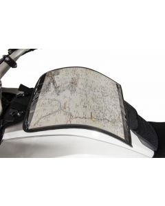 Kartentasche für Tankrucksack-Haltesätze Ambato mit Klickverschluss und Klett