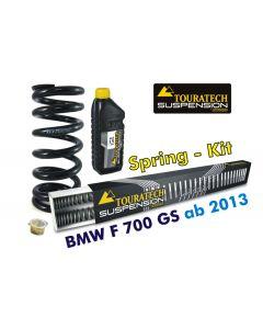 Progressive Federn für Gabel und Federbein für BMW F700GS *ab 2013*