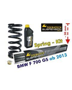Tieferlegung um -30mm BMW F700GS ab 2013 *Austauschfedern*