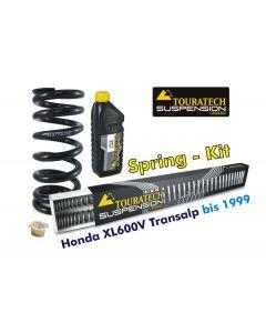 Progressive Federn für Gabel und Federbein für Honda XL600V Transalp 1989-2000 *Austauschfedern*