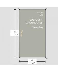 Zeltunterlage für den Schlafbereich des Redverz Solo Expedition Tent
