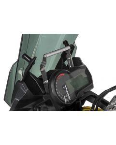 GPS-Anbauadapter über Instrumente, höhenverstellbar, für BMW F850GS/ F850GS Adventure/ F750GS, Anbauadapter / GPS-Halter / Navi-Halter Navigationsgerätehalter