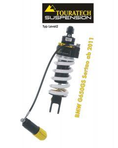 Touratech Suspension Federbein für BMW G650GS Sertao ab 2011 Typ Level2/ExploreHP
