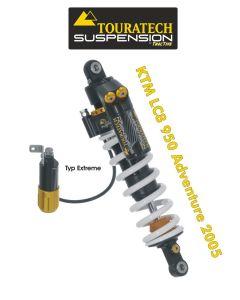 Touratech Suspension Federbein für KTM LC8 950 Adventure ab 2005 Typ Extreme
