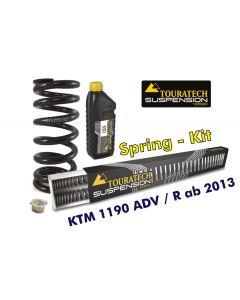 Progressive Federn für Gabel und Federbein für KTM 1190 Adventure R ab 2013 (mit ABS ohne EDS) Austauschfedern