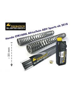 Progressive Gabelfedern für Honda CRF1000L Africa Twin Adventure Sports ab 2018 Tieferlegung um 25mm