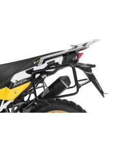 Kofferträger Edelstahl, schwarz für Honda CRF1000L Africa Twin (2018-) /CRF1000L Adventure Sports
