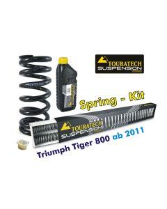 Progressive Federn für Gabel und Federbein für Triumph Tiger 800 (2011-2014) *Austauschfedern*