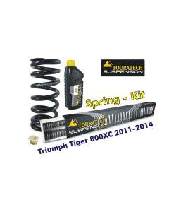 Progressive Federn für Gabel und Federbein für Triumph Tiger 800XC 2011-2014 *Austauschfedern*