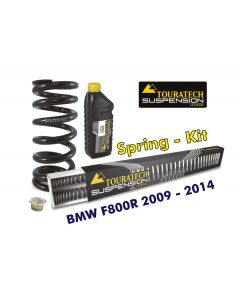 Progressive Federn für Gabel und Federbein für BMW F800R 2009-2014 *Austauschfedern*
